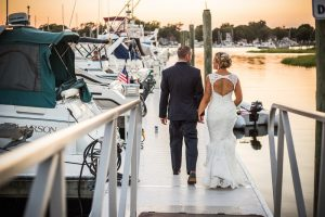 wedding-dock-walk